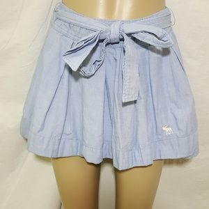 ** Abercrombie & Fitch Blue Skater Circle skirt XS